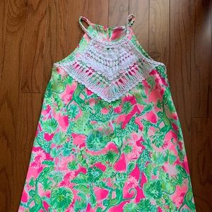 Lilly Pulitzer Halter Dress - Size 2